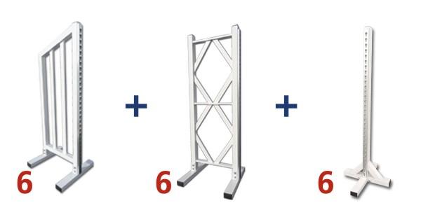 Formule aluminium 6 obstacles - Parcours CSO Aluminium