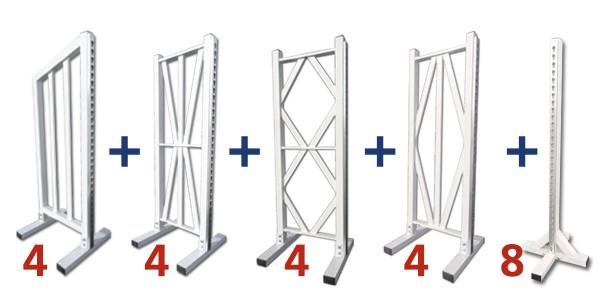 Formule aluminium 8 obstacles