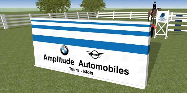 Mur Publicitaire BMW