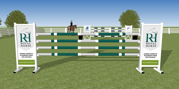 "Obstacle ""Royal Horse"""