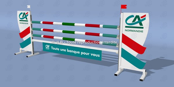 "OBSTACLE ""CREDIT AGRICOLE"""