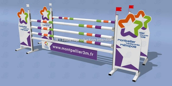 "OBSTACLE ""MONPELLIER"""