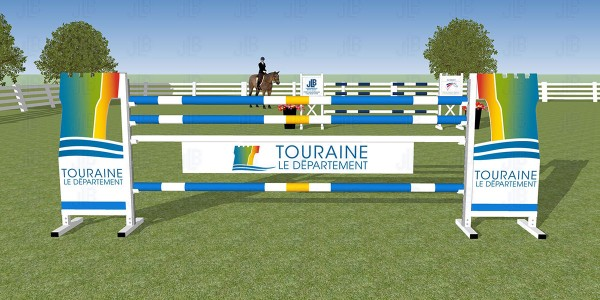 Obstacle Publicitaire Touraine